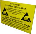 Табличка EPA зона на акриловой основе