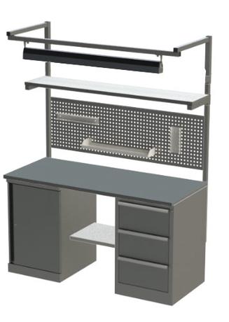 Комплект АТ6-К15 верстак слесаря